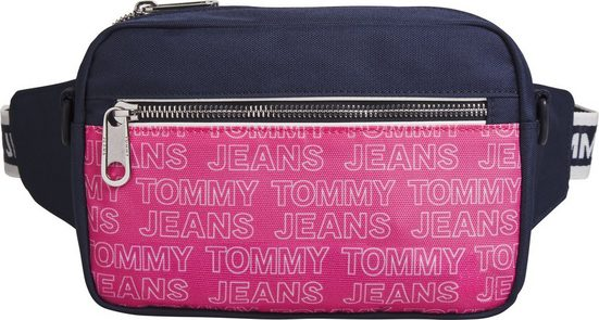 TOMMY JEANS Umhängetasche »TJW LOGO TAPE CONV CROSSBODY PRT«, mit Logo Schriftzug