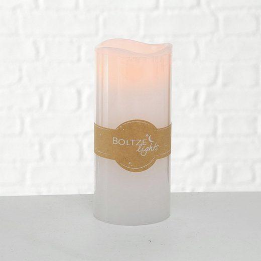BOLTZE Lichterkette »LED-Kerze LIGHTS weiß aus Wachs batterienbetrieben 20cm«
