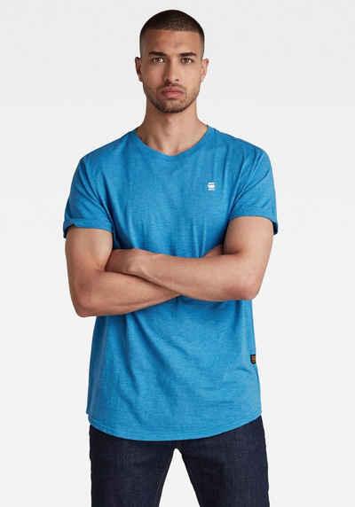 G-Star RAW Rundhalsshirt »Lash r t s\s Compact slub jersey«