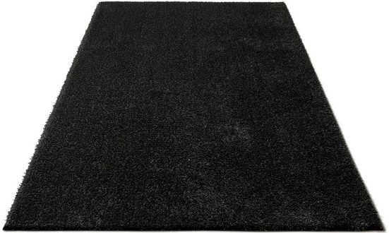 Hochflor-Teppich »Auslegungssache«, COUCH♥, rechteckig, Höhe 30 mm, besonders weich durch Microfaser, COUCH Lieblingsstücke, Wohnzimmer