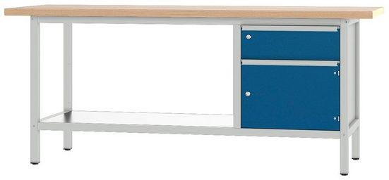 PADOR Werkbank »31 S 002/20 R«, Höhe: 85,5 cm