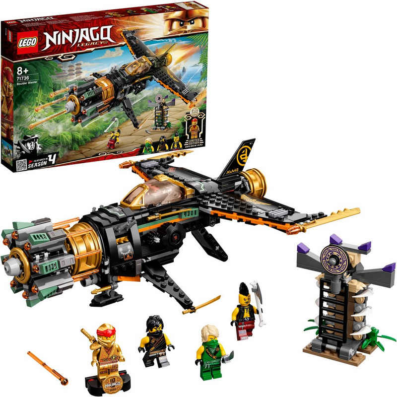 LEGO® Konstruktionsspielsteine »Coles Felsenbrecher (71736), LEGO® NINJAGO®«, (449 St), Made in Europe
