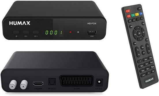 Humax »Humax HD Fox Digitaler HD Satellitenreceiver 1080P« Satellitenreceiver