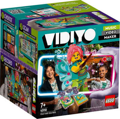 LEGO® Konstruktionsspielsteine »Folk Fairy BeatBox (43110), LEGO® VIDIYO™«, (89 St)