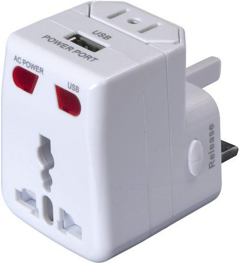 Basic Nature Reisestecker »Universal Plug Adapter USB«
