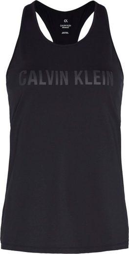 Calvin Klein Performance Sporttop »TANK TOPS« mit Racer-Rücken & Calvin Klein Logo-Schriftzug Ton in Ton