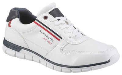 TOM TAILOR Sneaker mit Kontrastbesätzen
