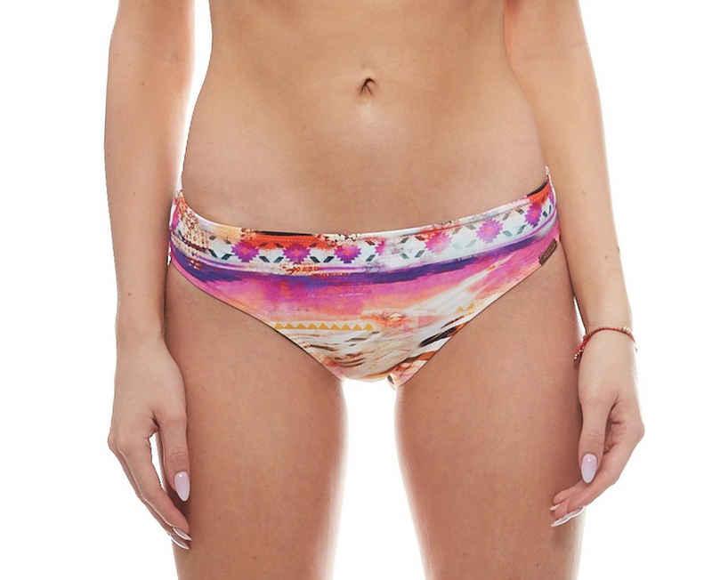 WATERCULT Badehose »watercult Bikini-Slip weiche Damen Badehose im Safari Look Schwimmhose Rosa«