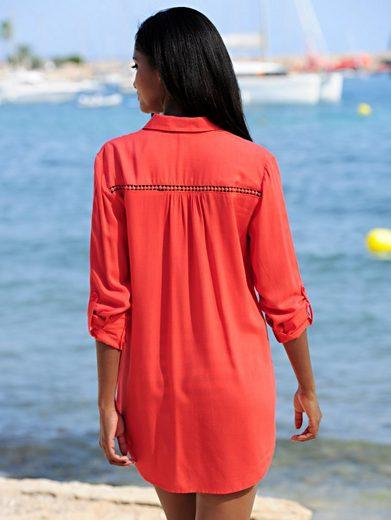 Alba Moda Strandbluse mit Spitze