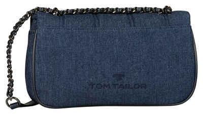 TOM TAILOR Umhängetasche »JULIETA«, in modischer Jeans Optik