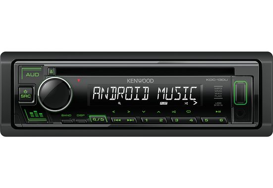 Kenwood Audio-System (Kenwood KDC-130UG - CD, MP3, USB, Aux-In Autoradio)