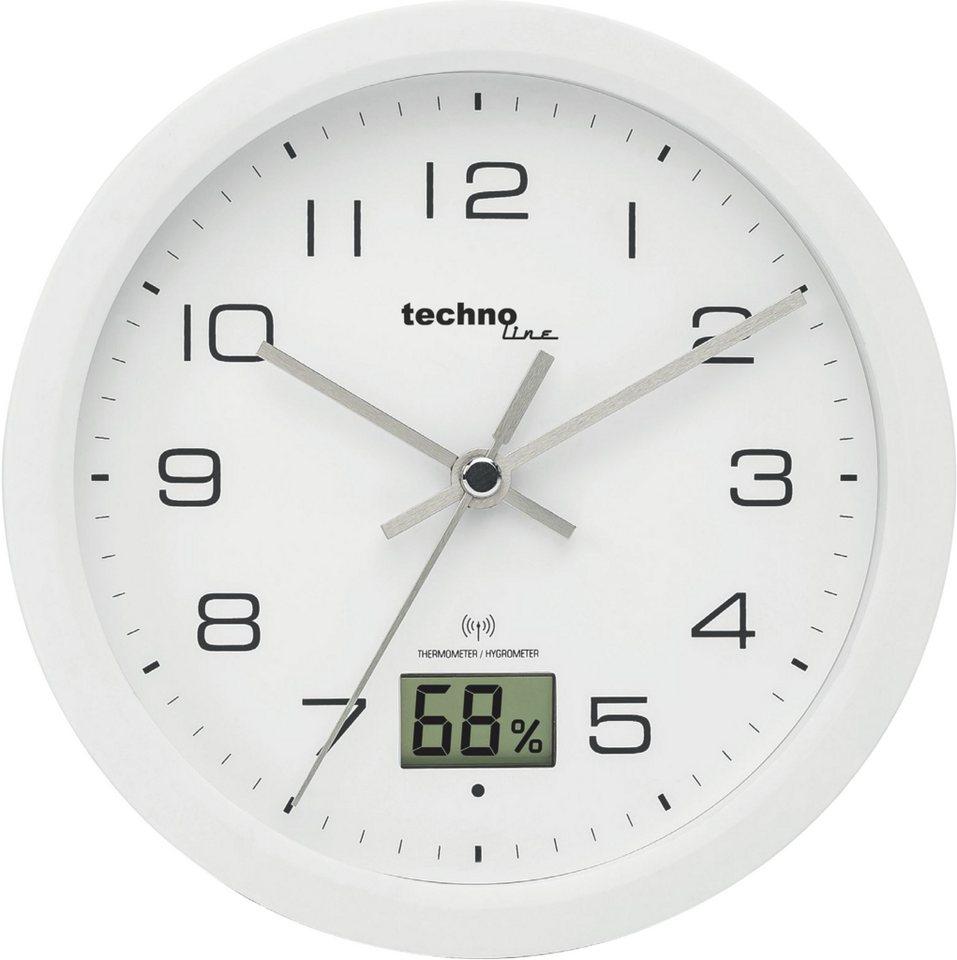 technoline Badezimmeruhr »WT 20« mit Temperatur  und Luftfeuchteanzeige  online kaufen   OTTO