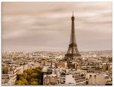 Artland Glasbild »Paris Eiffelturm I«, Frankreich (1 Stück)