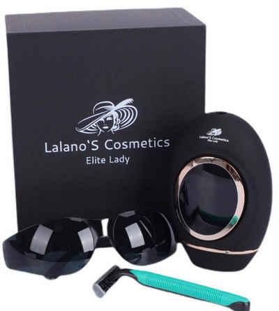 Lalano`S Cosmetics IPL-Haarentferner für Körper, Gesicht, Achseln und Bikinizone mit LCD-Touch Screen, 500.000 Lichtimpulse