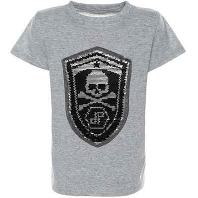BEZLIT T-Shirt »Jungen T-Shirt Kurzarm mit Wende Pailletten« (1-tlg) Wendepailletten