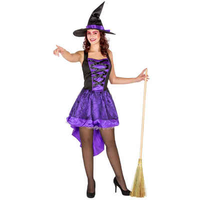 tectake Hexen-Kostüm »Frauenkostüm sexy Hexenkleid«
