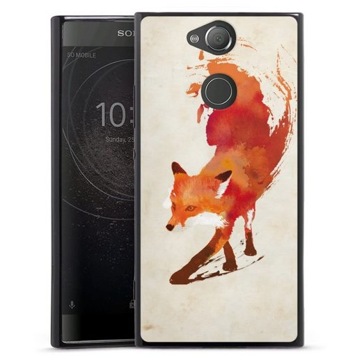 DeinDesign Handyhülle »Vulpes Vulpes« Sony Xperia XA 2, Hülle Fuchs Graphic