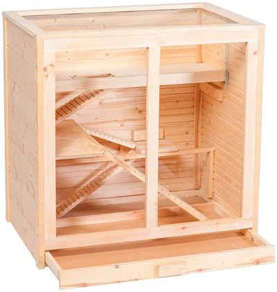 SILVIO design Kleintierkäfig »Arni«, BxLxH: 80x53x80 cm