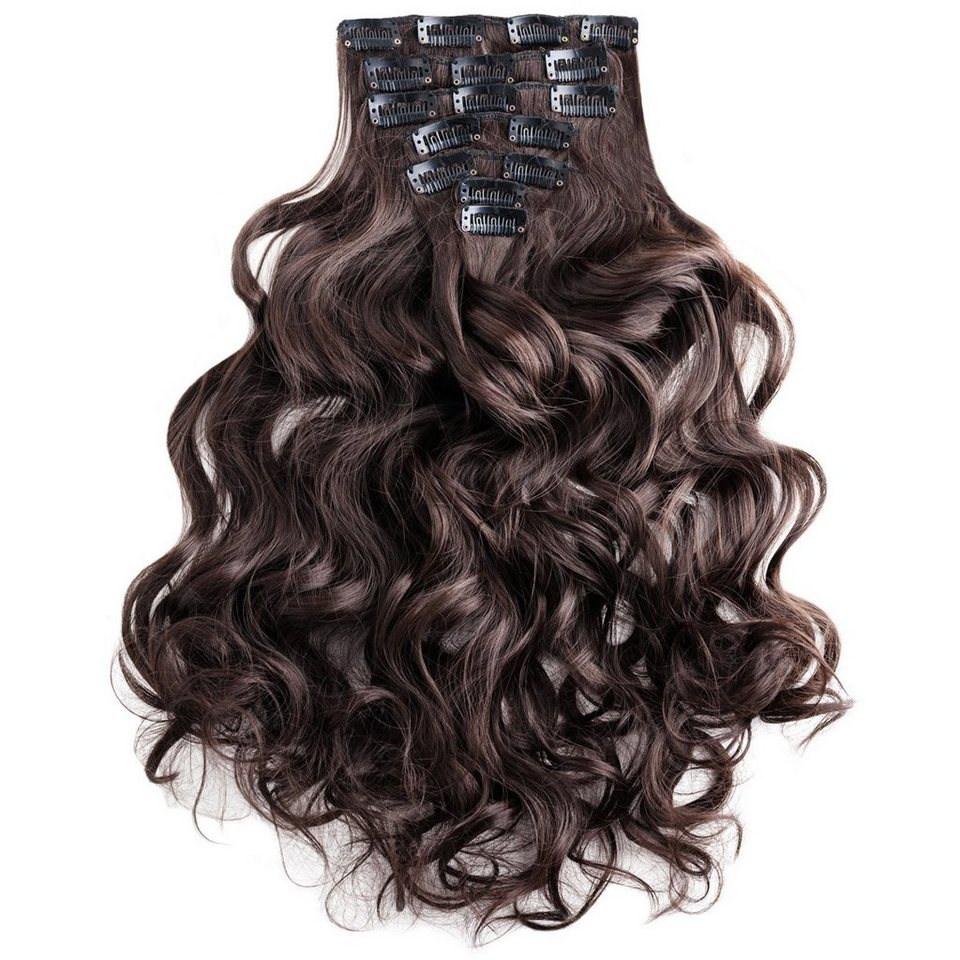 MyBeautyworld20 Haarclip »Clip In Extensions Haarverlängerung Set – 20  Haarteile Extensions Haarverlängerung 20 cm« online kaufen   OTTO