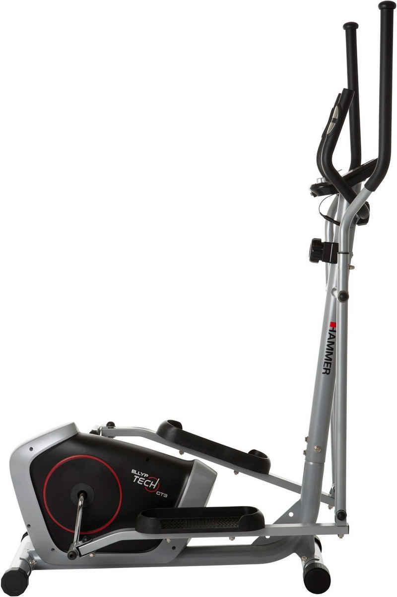 Hammer Crosstrainer »Ellyptech CT3«, mit Computer und Smartphonehalterung, Fitness-Apps per Smarthphone/Tablet