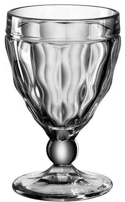 LEONARDO Weißweinglas »BRINDISI«, Glas, farbiges Colori-Glas, 240 ml, 6-teilig