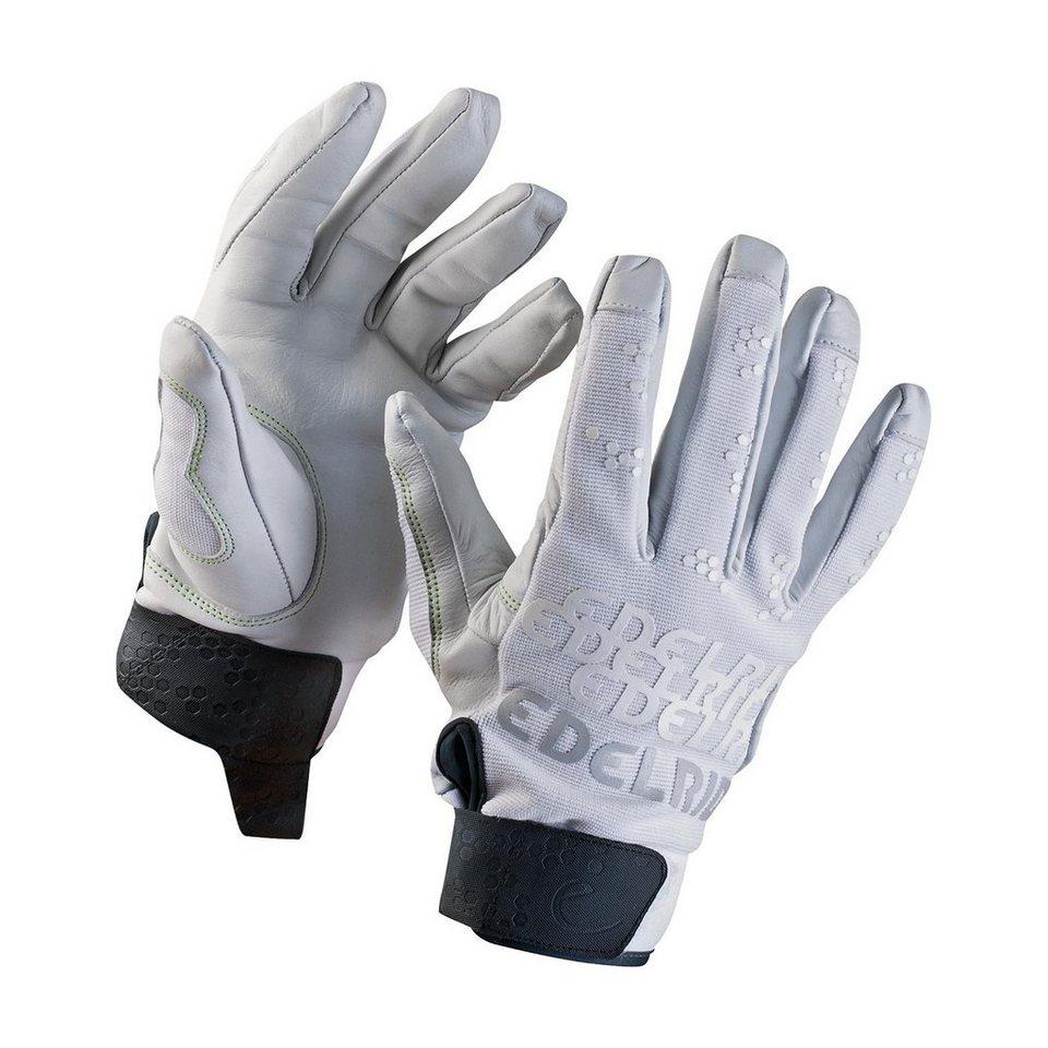 Edelrid Klettersteighandschuhe »Skinny Gloves« in weiß