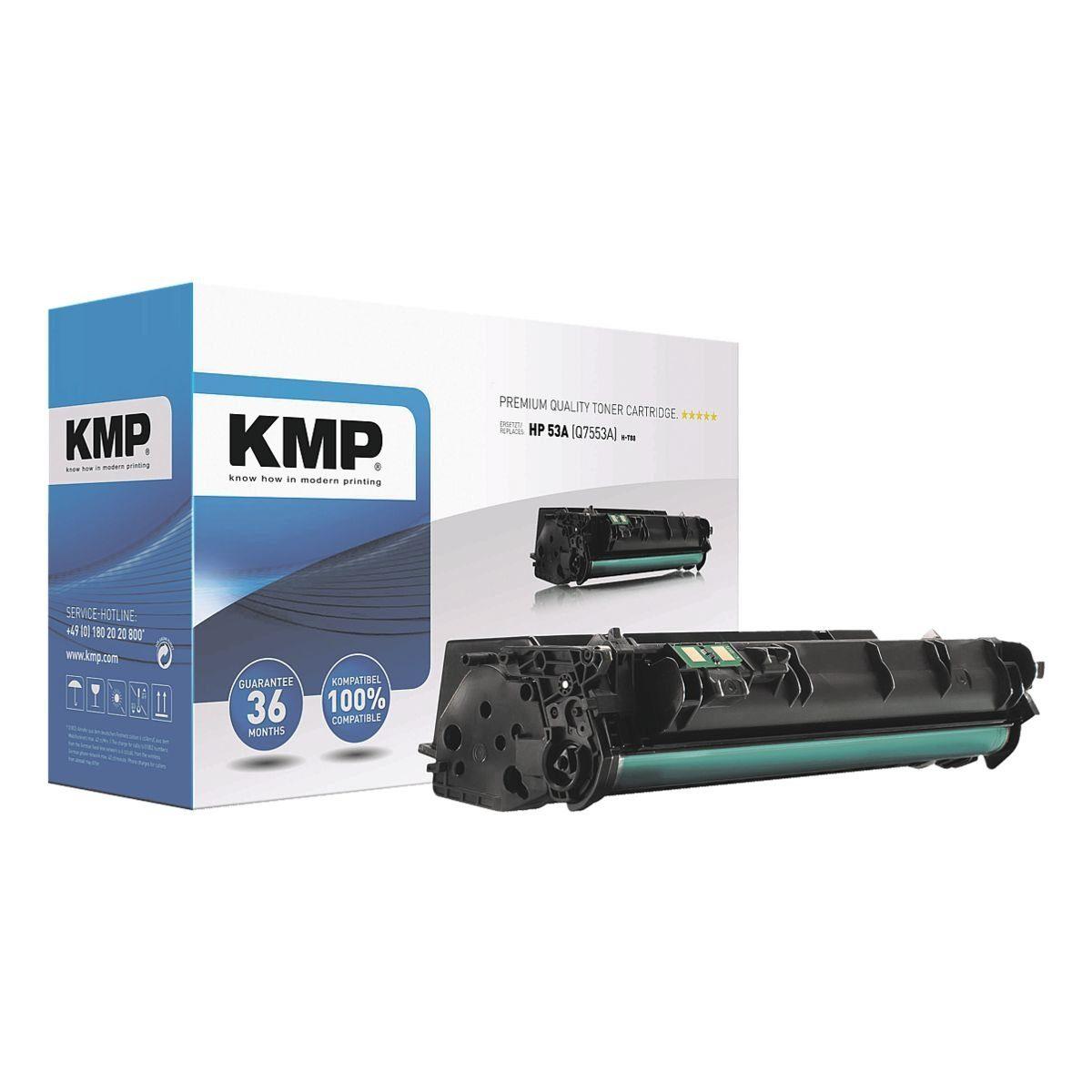 KMP Toner ersetzt HP »Q7553X« Nr. 53X