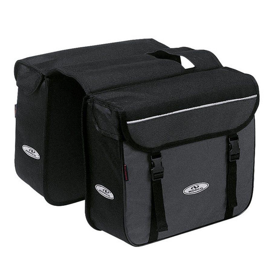 Norco Gepäckträgertasche »Ottawa Zweifachtasche schwarz/grau«