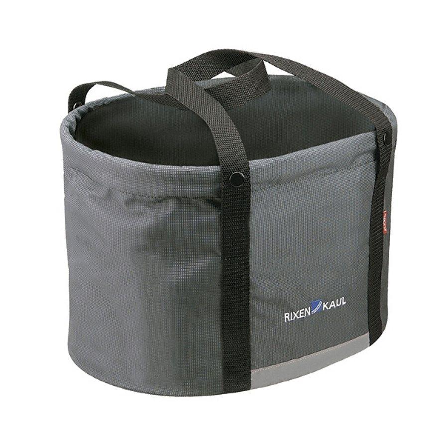 KlickFix Gepäckträgertasche »Shopper Plus Lenkertasche grau«