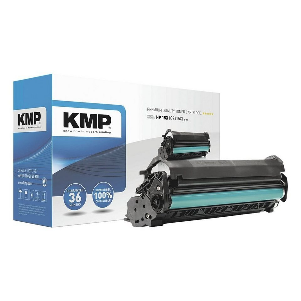 KMP Toner ersetzt HP XXL »C7115X« Nr. 15X