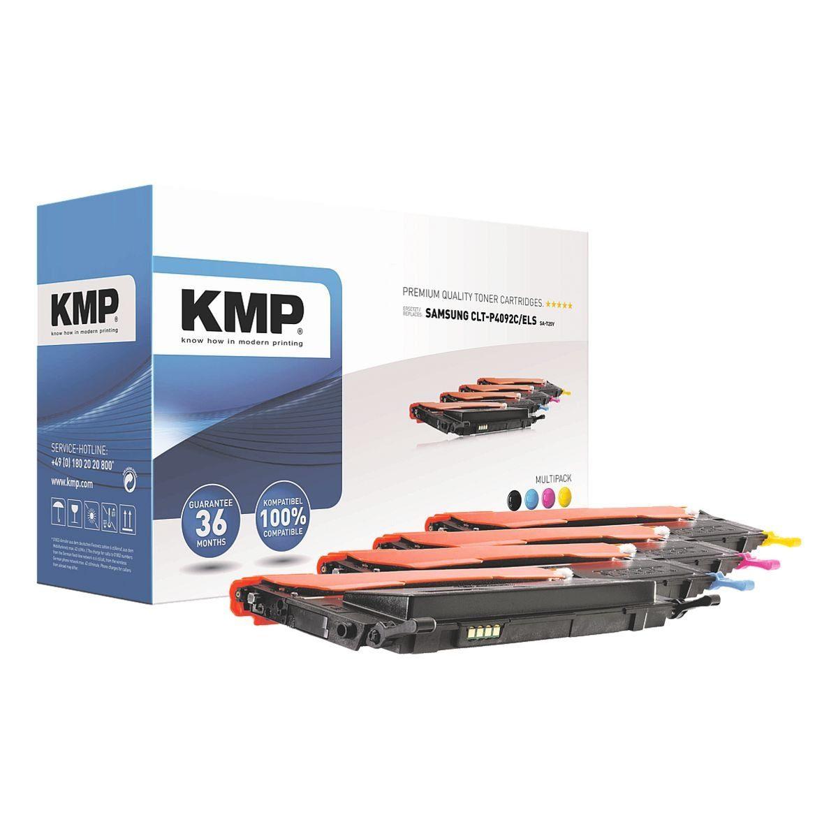KMP Toner-Set ersetzt Samsung »CLT-P4092C/ELS«