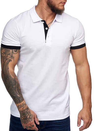 Code47 T-Shirt »Code47 Herren Poloshirt Polohemd Basic Kurzarm« (1-tlg)