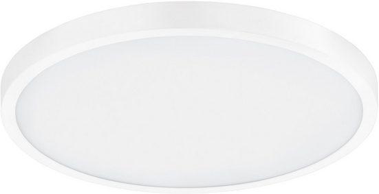 EGLO Aufbauleuchte »FUEVA 1«, schlankes Design, nur 3 cm hoch, Durchmesser 40 cm