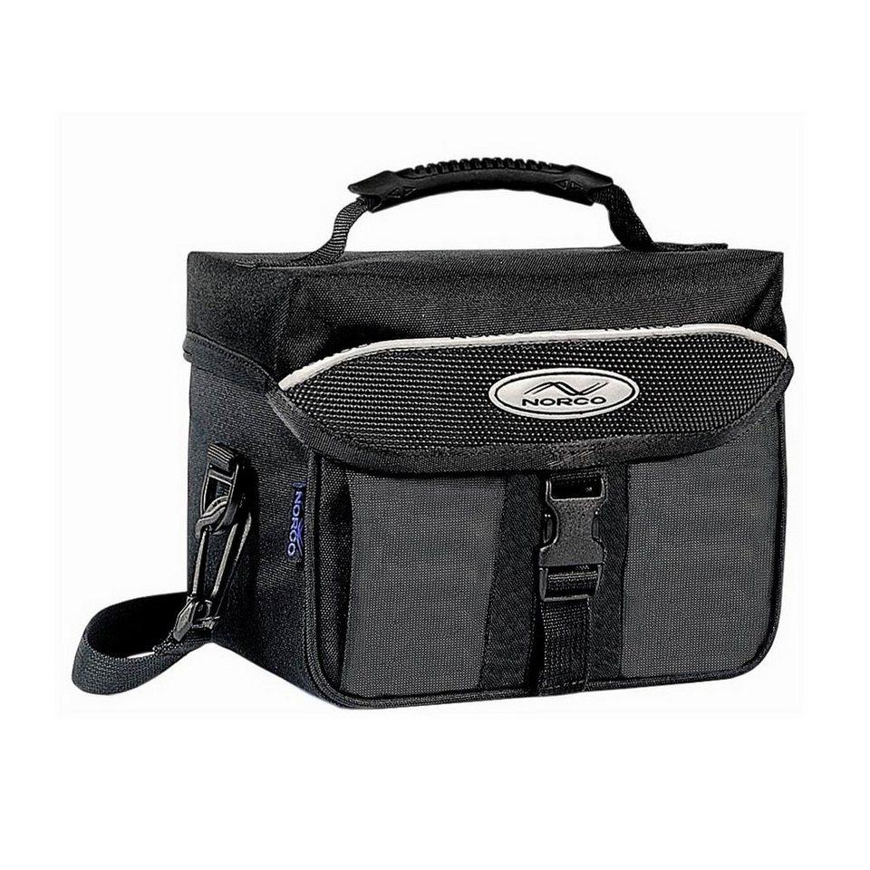Norco Gepäckträgertasche »Ottawa Lenkertasche schwarz«