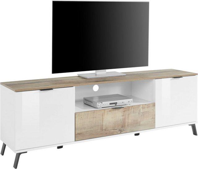 TV Möbel - KITALY TV Board »CASANOVA«, Breite ca. 180 cm  - Onlineshop OTTO