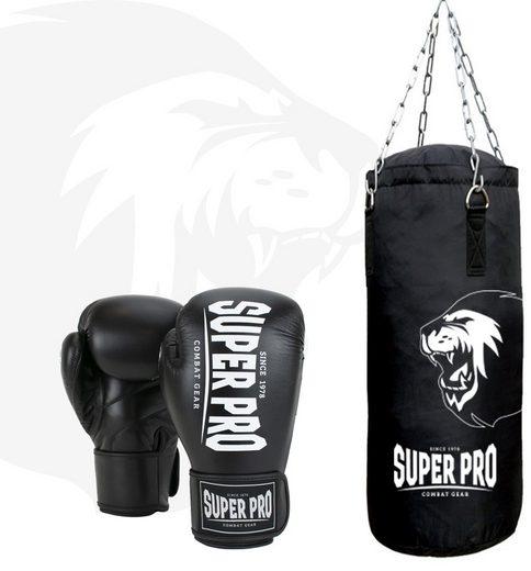Super Pro Boxsack »Boxing Set Punch« (Set, mit Boxhandschuhen)