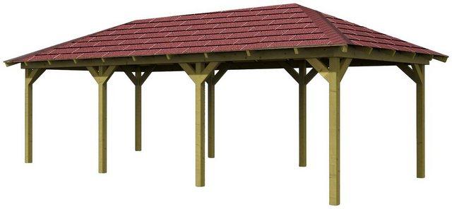 Karibu Holzpavillon Mailand 1 Set