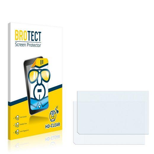 BROTECT Schutzfolie »für Icom IC-7600«, (2 Stück), Folie Schutzfolie klar