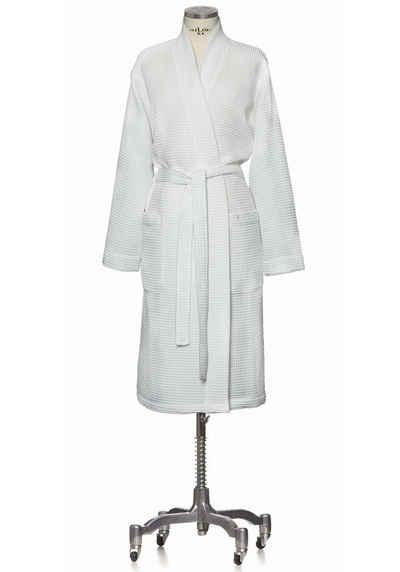 Kimono »Homewear«, Möve, Piquée-Oberfläche