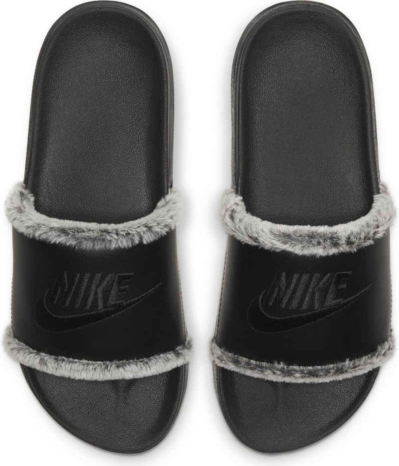 Nike Sportswear »OFFCOURT LEATHER SLIDE« Badesandale