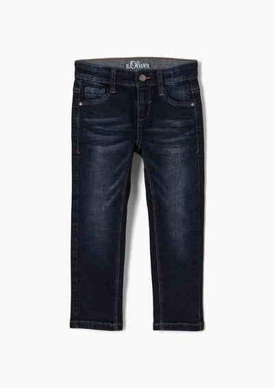 s.Oliver 5-Pocket-Jeans »Regular: Denim mit Waschung« Waschung