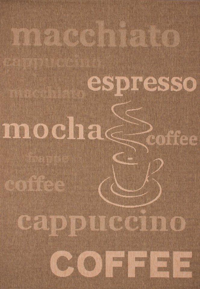 Teppich, Lalee, »Finca 510« in Kaffee