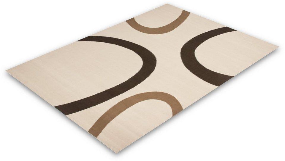 Teppich, Lalee, »Contempo 659«, gewebt in Elfenbein