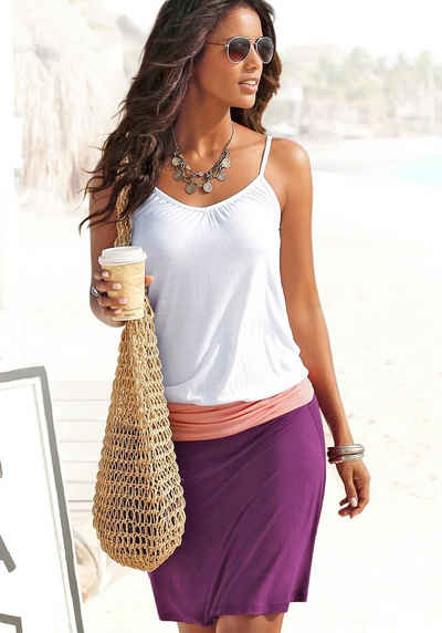 Beachtime Strandkleid aus Viskosejersey