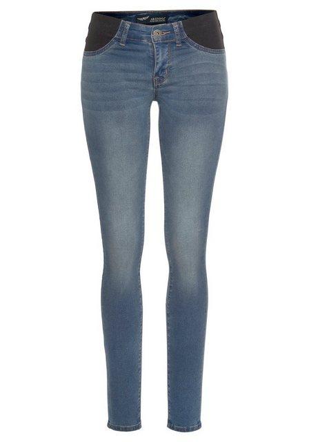 Hosen - Arizona Skinny fit Jeans »Ultra Stretch« Low Waist mit seitlichen Stretch Einsätzen am Bund › blau  - Onlineshop OTTO