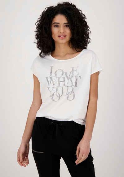 Monari Shirtbluse mit Glitzer - Details