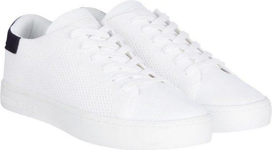 Calvin Klein Sneaker mit Logodruck an der Ferse