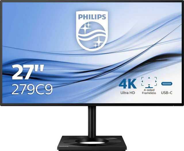 Philips 279C9 00 Gaming-Monitor 68,5 cm 27 , 3840 x 2160 Pixel, 4K Ultra HD, 5 ms Reaktionszeit, IPS