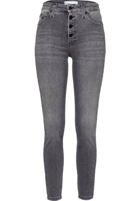 Hosen - Calvin Klein Jeans 5 Pocket Jeans »HIGH RISE SUPER SKINNY ANKLE« ›  - Onlineshop OTTO