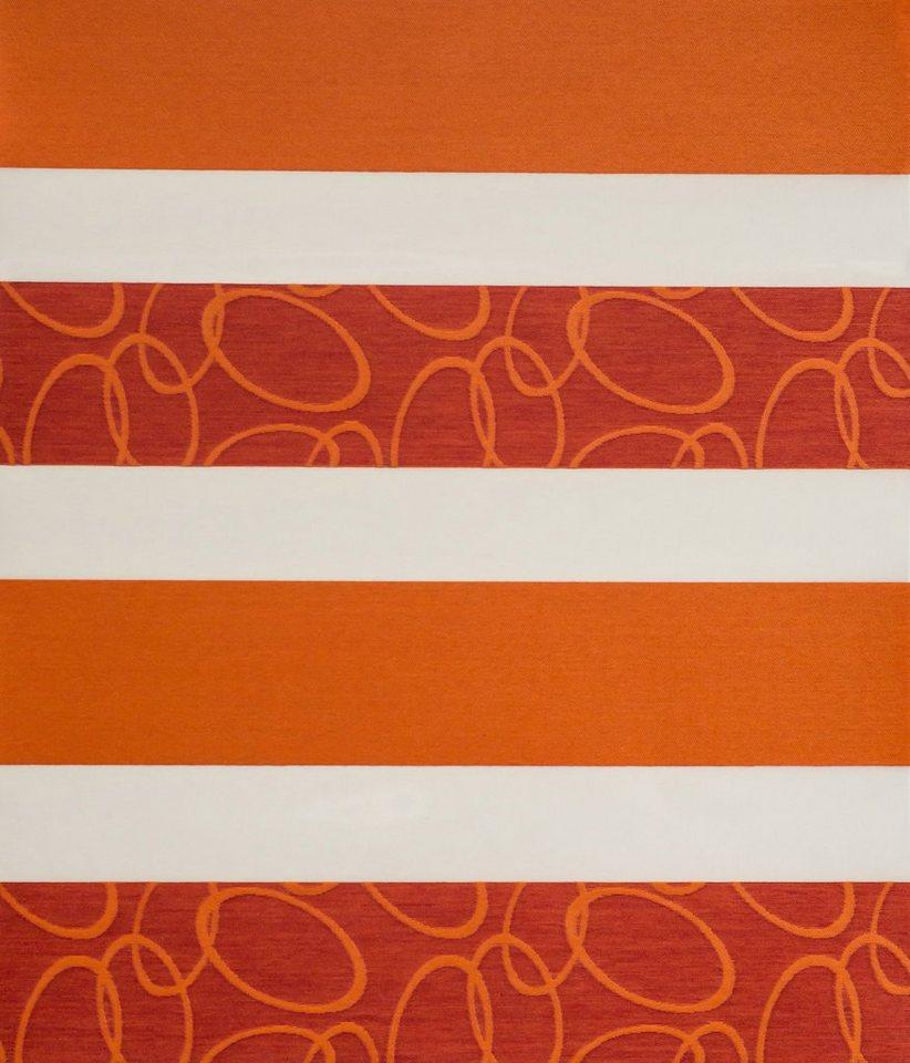 Doppelrollo, Sunlines, »Arena«, im Festmaß, Lichtschutz (1 Stck.) in orange